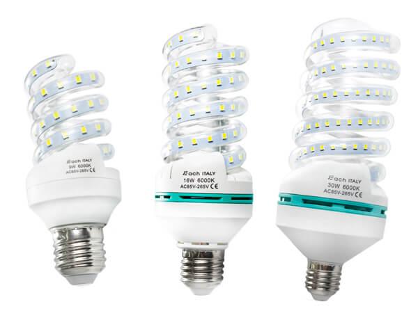 Utilizzare le lampadine a led ecco come risparmiare con for Lampadine casa led