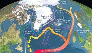 La Circolazione atlantica rallenta: in arrivo 20 anni di caldo record