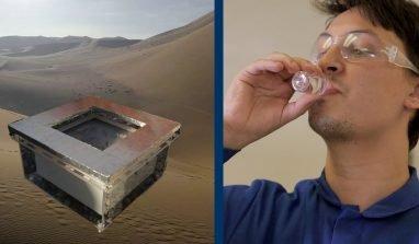 Con MOF-801 è possibile estrarre acqua potabile dall'aria del deserto